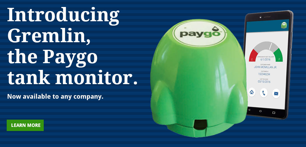 Introducing Gremlin: The Paygo Exclusive Tank Monitor.